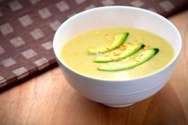 Zupa ziemniaczana z awokado