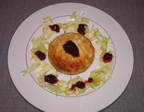 Smażony ser camembert