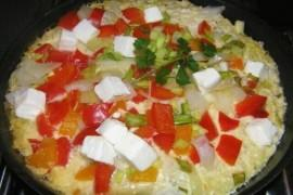 Tortilla z ryżem i kiszoną kapustą