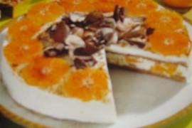 Torcik jogurtowo-pomarańczowy