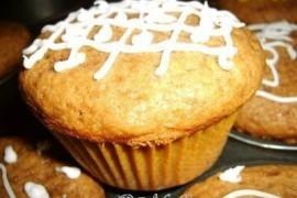 Muffiny cappuccino z chałwą
