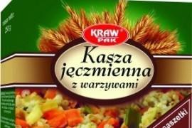 Naturalnie najlepsza, czyli Kasza jęczmienna z warzywami od firmy Krawpak