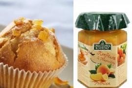Owocowa Rozkosz poleca: przepis na korzenne muffinki z konfiturą pomarańczową