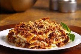 Lasagne z mięsem i ricottą