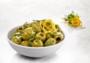 Hiszpańskie zielone oliwki z cytrusami