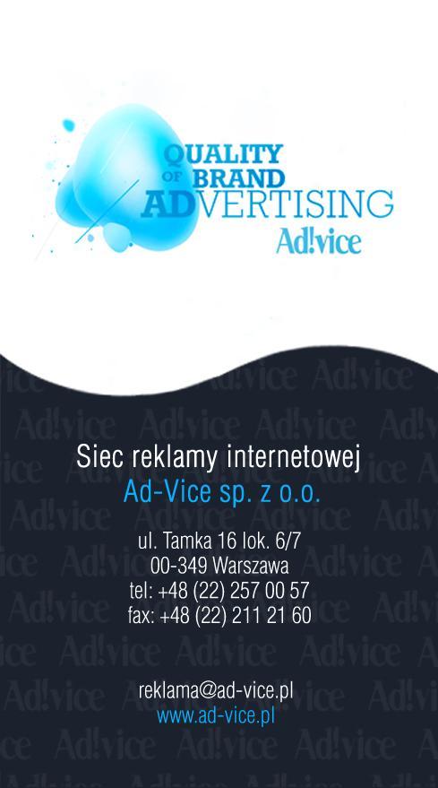 podstrona reklama