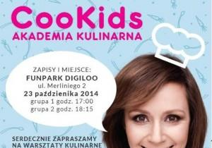Ruszają warsztaty kulinarne dla dzieci CooKids!