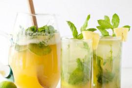WYZWANIE H2O: tropikalna woda z ananasem