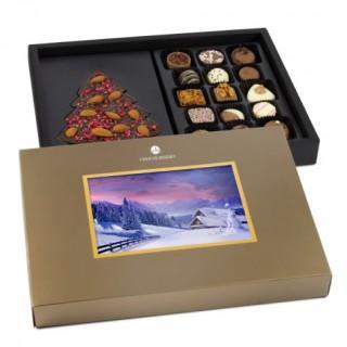 Świąteczne skrytki czekoladowych pyszności – idealne na prezent!
