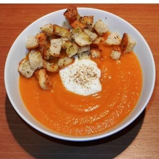 Kremowa zupa paprykowa