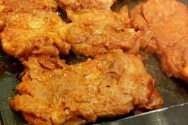 Kurczak w płatkach kukurydzianych- bardzo chrupki!