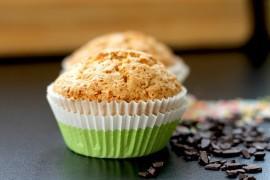 Muffinki z wiórkami kokosowymi