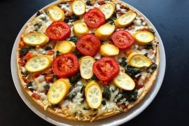 Pizza z grillowanymi warzywami