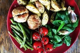 Kotleciki z kurczaka z chilli i rozmarynem