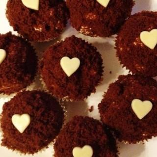 Czekoladowe muffinki z serkiem mascarpone