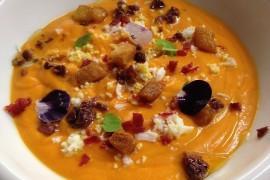 Hiszpańska zupa Salmorejo, czyli krem z pomidorów na zimno