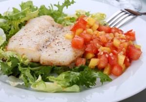 Ryba w sosie słodko- kwaśnym