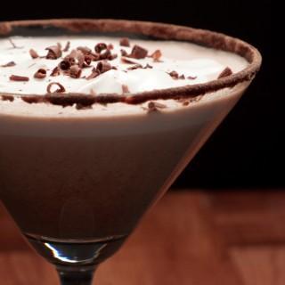 Słodko-gorzki mus czekoladowy