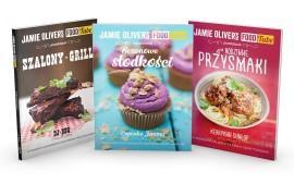 """Zgarnij PREMIEROWE trzy książki z serii """"Food Tube Jamiego Olivera""""!"""