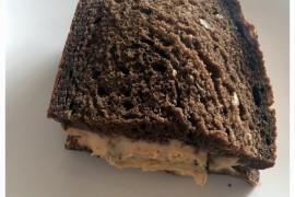 Pożywna wegetariańska kanapka