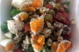 Wiosenna sałatka z chili