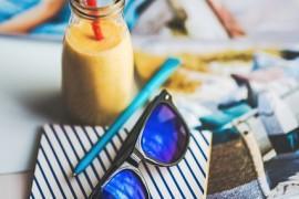 Lassi – indyjski napój jogurtowy z pomarańczą