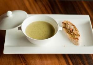 Zupa krem z pieczarek i ziemniaków