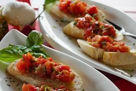 Prawdziwie włoska bruschetta!