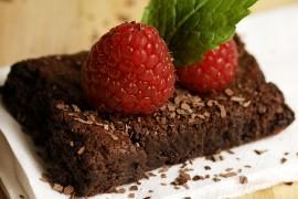 Mocno czekoladowe Brownie bez mąki
