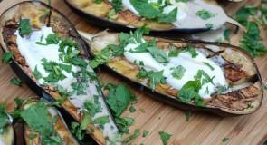 Tanie danie- pieczone bakłażany