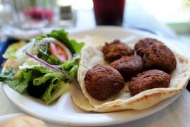 Wegański falafel