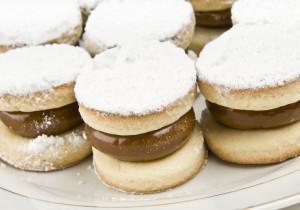 Alfajor – hiszpańskie ciastka z kajmakiem