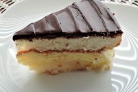 Angielskie waniliowe ciasto custard
