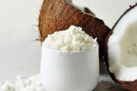 Bita śmietana z mleczka kokosowego