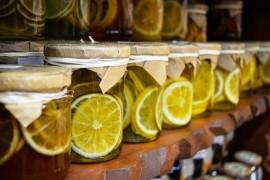 Słodki syrop z limonek