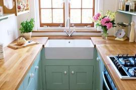 Akcenty drewniane w kuchni- 10 modnych inspiracji!