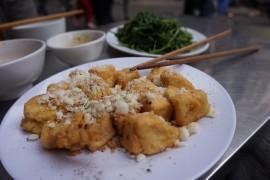 Wege przekąska: tofu w panierce