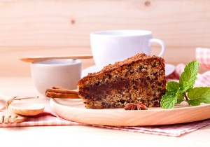 Kawowe ciasto z cynamonem