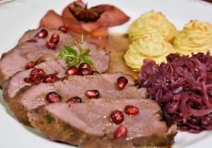 Pierś z gęsi z żurawiną – idealna na andrzejkowy obiad