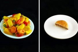 25 porcji żywności, która zawiera 200 kcalori! SZOK!