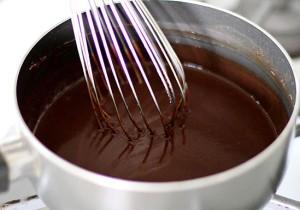 Sos czekoladowy z kakao