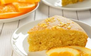 Szybkie ciasto pomarańczowe