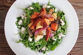 Warzywa z grilla plus rukola – PYSZNA SAŁATKA