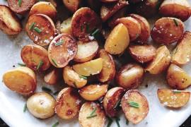 Klasyczne pieczone ziemniaki