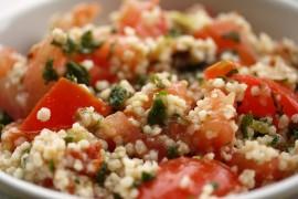 Zdrowy obiad: kuskus z warzywami