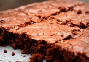 Szybkie ciasto z czerwonej fasoli