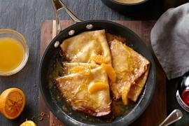Francuskie naleśniki – Crepes Suzette