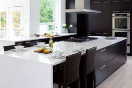 10 inspiracji na urządzenie kuchni CZARNO-BIAŁEJ