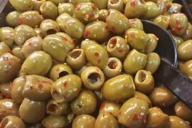 Hiszpańskie tapas: oliwki marynowane z chilli