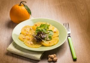 Carpaccio z pomarańczy